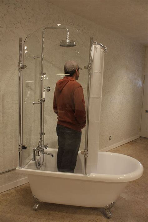 Claw Foot Tub Shower Enclosure by Best 25 Glass Shower Enclosures Ideas On