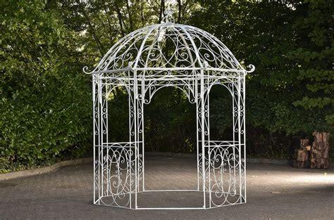Pavillon 8 Eckig Metall romantischer eisenpavillon leila gazebo rosenspalier eckig