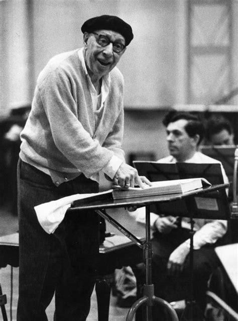 Happy in a beret - 9 pictures of Igor Stravinsky looking