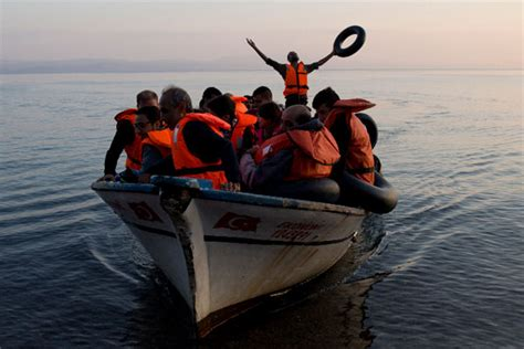 syrian refugee crisis boat nato orders warships into aegean to help ease migrant