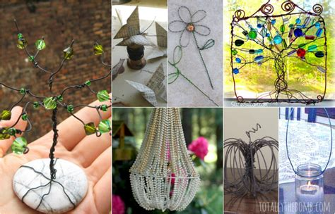 wire home decor 35 gorgeous diy wire crafts