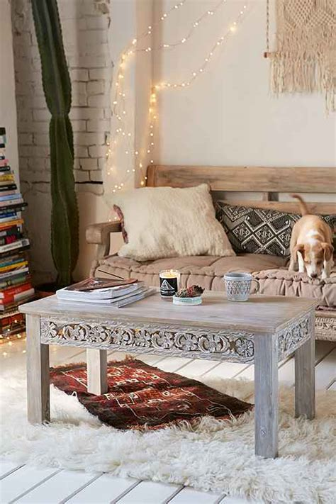 Rashmi Carved Coffee Table Urban Outfitters