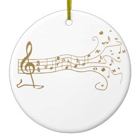 musical notes on fun pentagram happy music gift