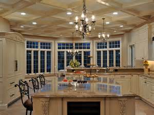Decorating Ideas For A Big Kitchen Interior Design Large Kitchen
