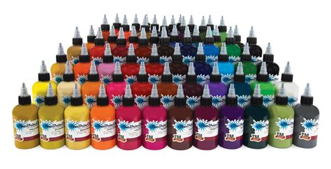 starbrite tattoo ink starbrite 75 color complete kit set 2oz
