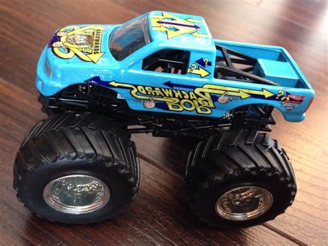 wheels jam truck backwards bob 1 64 car die cast and wheels