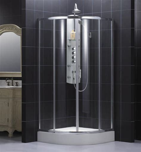 shower bath enclosures dreamline showers sector shower enclosure with frosted glass