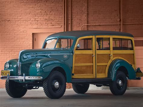 Woody Jeep 1940 Marmon Herrington Ford 4 215 4 Woodie Wagon The Jeep