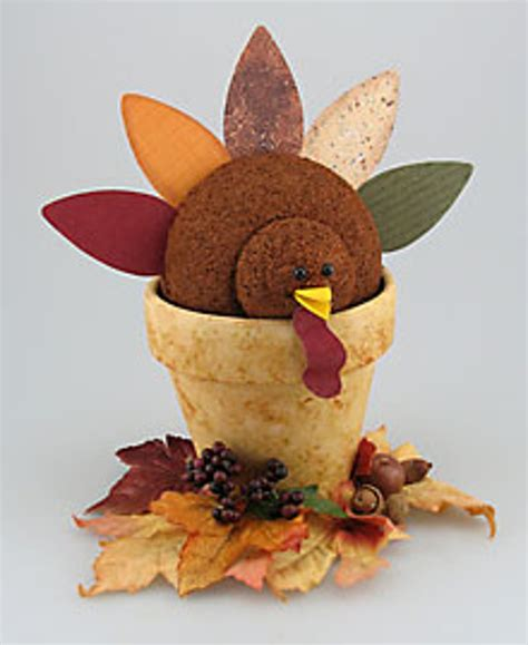 centerpieces craft air freshener turkey centerpiece favecrafts