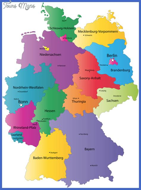 germany tourist attractions map germany map tourist attractions toursmaps