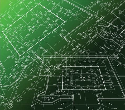 Shop Apartment Floor Plans house plan on green background vector blueprint vector