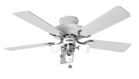 stainless steel ceiling fan with light fantasia mayfair combi 42 white stainless steel ceiling