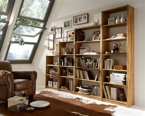 muebles biblioteca bibliotecas grandes para salas de estar modernas