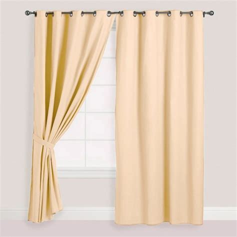 cortinas beige cortina de pa 241 o blackout 140x240cm color beige 1 pa 241 o