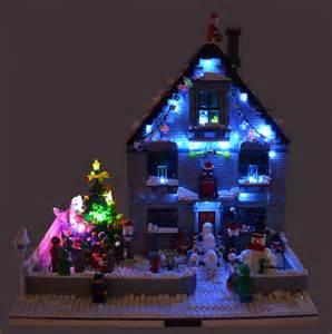 moc of the week lego christmas house brickextra