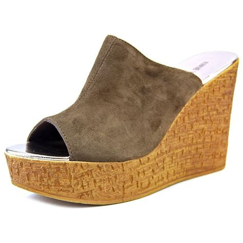 9 West S Sandals by Nine West Lilahol1 Open Toe Synthetic Wedge Sandal Ebay