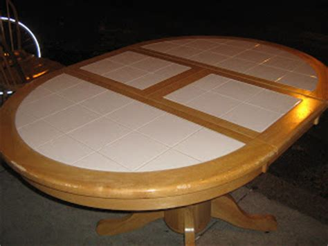 White Tile Top Kitchen Table Uhuru Furniture Collectibles Kitchen Table And 4 Chairs With White Tile Top Sold