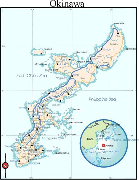 okinawa map okinawa japan map pictures to pin on pinsdaddy