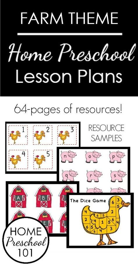 home preschool lesson plans 228 best farm theme images on pinterest farm theme