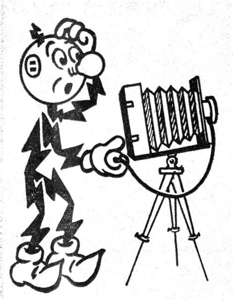 reddy kilowatt puzzled by camera they puzzle me too