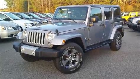 jeep silver 2016 silver 2016 wrangler unlimited at troncalli