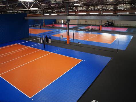 Karpet Volly facilities sport court basketball court flooring floors sport court of the rockies