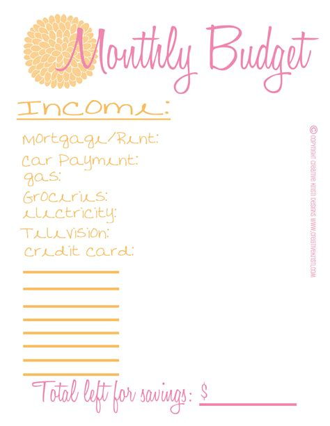 free printable personal planner pages faithful provisions free blank monthly budget worksheet blank monthly budget