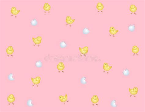 free eastern pattern background easter chicks eggs background pattern royalty free stock