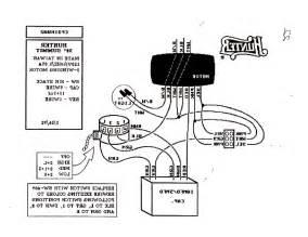 4 wire ceiling fan wiring diagram