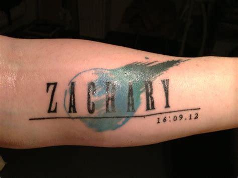 final fantasy 7 tattoo vii by pablo hassan on deviantart