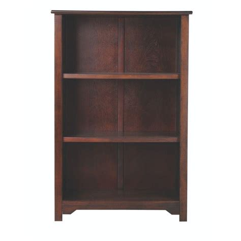 home decorators collection oxford chestnut open bookcase