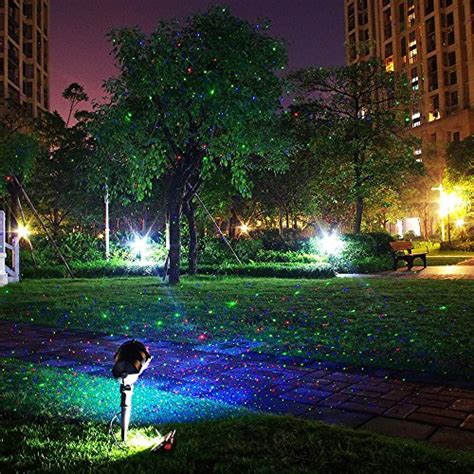 wireless outdoor christmas tree lights zitrades landscape lights laser christmas party garden