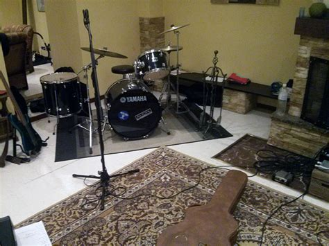 how to soundproof a room for drums how do i make drums sound satisfying in a room without soundproofing practice theory