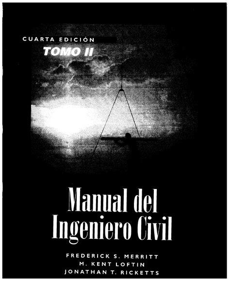 uDocz - Manual Del Ingeniero Civil II PDF.pdf | cálculos y