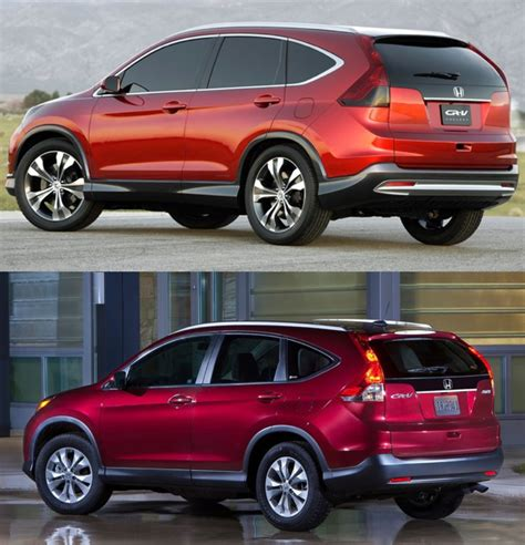 Honda Cr V Production by 2013 Ford Escape Vs 2012 Honda Cr V Concept Vs