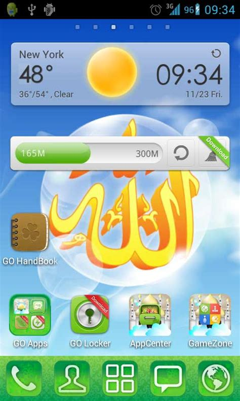 quran themes for mobile phones free islamic go launcher theme app apk download for