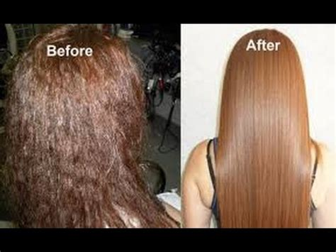 Makarizo Rebonding Extremely Damaged Hair diy hair spa treatment get shiny thick silky smooth