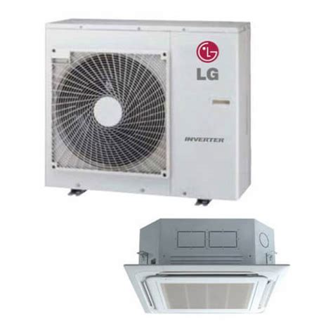 Ac Cassette Lg lc247hv lg lc247hv 24 000 btu ductless single zone air conditioner inverter ceiling cassette