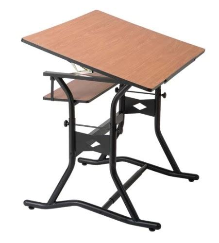 Alvin Drafting Tables Alvin Co Inc Craftmaster Iii Drafting Table Split Top