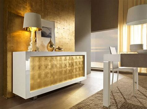 home design gold luxury sideboards interior design int gold 色に