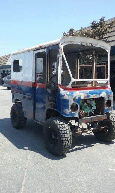 jeep mail van 1961 jeep fj3 quot rockcrawler quot mail van step van
