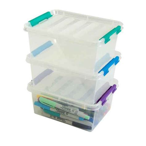 plastic containers for storage flip boxes medium plastic storage containers set of 24