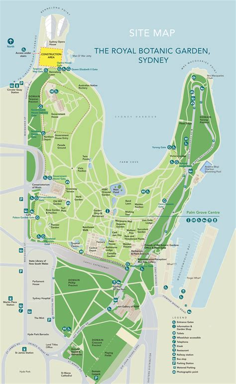 the botanical gardens sydney visitor information governor of new south wales