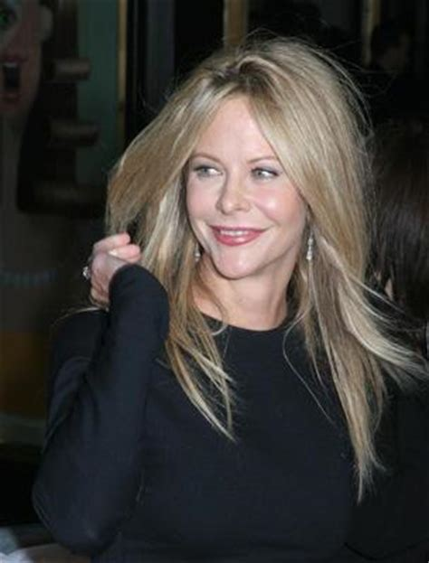 meg ryan natural hair color meg ryan s hair lovetoknow