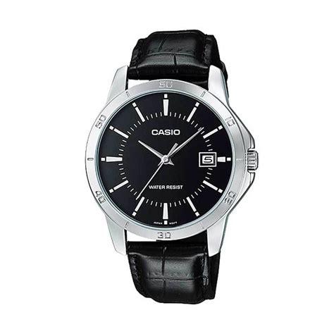 Casio Analog Jam Tangan Pria Kulit Mtp X100l Original jual casio kulit standard mtp v004l 1a jam tangan pria