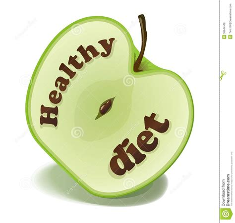 a healthy diet clipart clipground