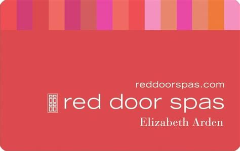Spa Gift Card Chicago - purchase a red door gift card yelp