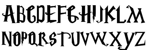 Harry Potter Fonts by Harry Potter Font Download