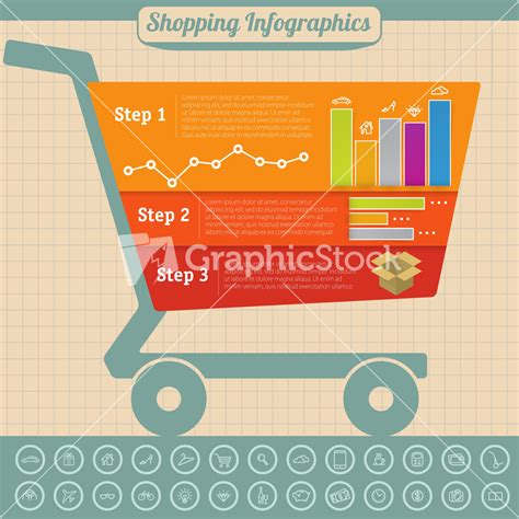 shopping cart template for royalty free stock images vectors illustrations