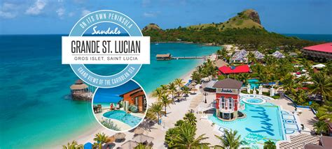 st lucia all inclusive sandals st lucia sandals all inclusive packages 28 images